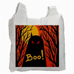 Halloween monster Recycle Bag (Two Side)