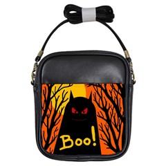 Halloween monster Girls Sling Bags