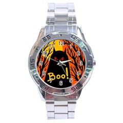 Halloween monster Stainless Steel Analogue Watch