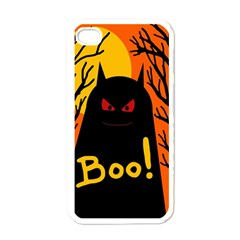 Halloween monster Apple iPhone 4 Case (White)