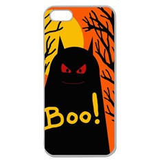 Halloween monster Apple Seamless iPhone 5 Case (Clear)