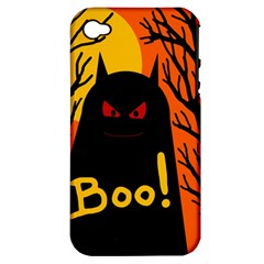 Halloween monster Apple iPhone 4/4S Hardshell Case (PC+Silicone)
