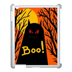 Halloween monster Apple iPad 3/4 Case (White)