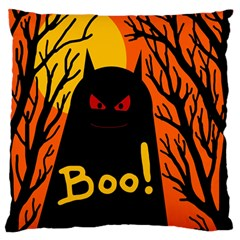 Halloween monster Large Flano Cushion Case (Two Sides)