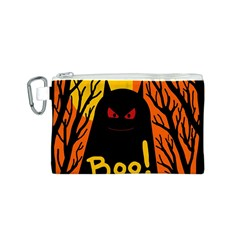 Halloween monster Canvas Cosmetic Bag (S)
