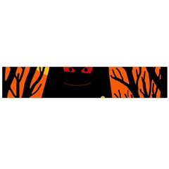 Halloween monster Flano Scarf (Large)