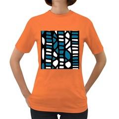 Blue decor Women s Dark T-Shirt