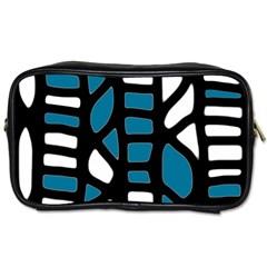 Blue decor Toiletries Bags