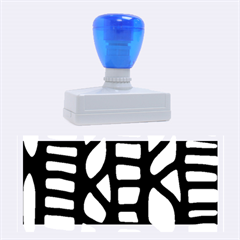 Blue decor Rubber Stamps (Large)