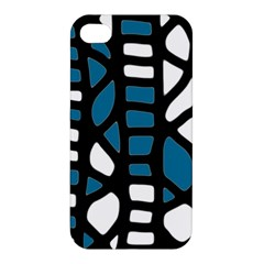 Blue decor Apple iPhone 4/4S Hardshell Case