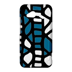 Blue decor HTC Droid Incredible 4G LTE Hardshell Case