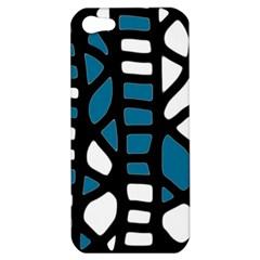 Blue decor Apple iPhone 5 Hardshell Case