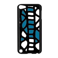 Blue decor Apple iPod Touch 5 Case (Black)