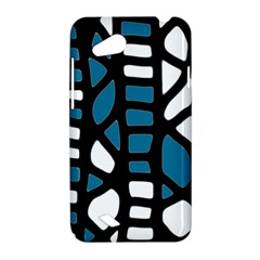 Blue decor HTC Desire VC (T328D) Hardshell Case