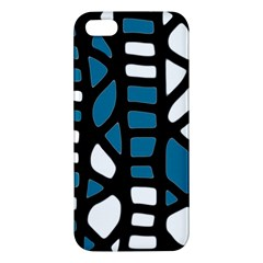 Blue decor Apple iPhone 5 Premium Hardshell Case