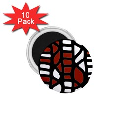 Red decor 1.75  Magnets (10 pack)