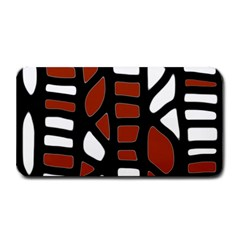 Red decor Medium Bar Mats