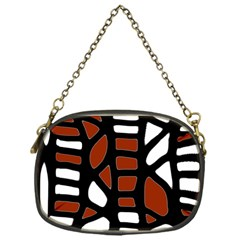 Red decor Chain Purses (One Side)