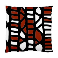 Red decor Standard Cushion Case (Two Sides)