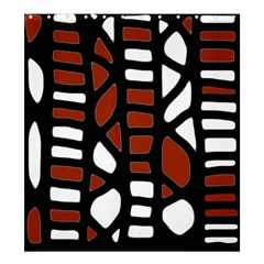 Red decor Shower Curtain 66  x 72  (Large)