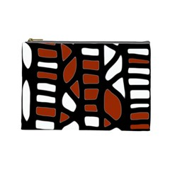Red decor Cosmetic Bag (Large)