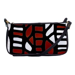 Red decor Shoulder Clutch Bags