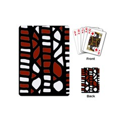 Red decor Playing Cards (Mini)