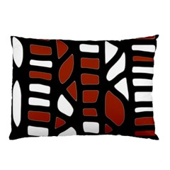 Red decor Pillow Case (Two Sides)