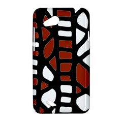 Red decor HTC Desire VC (T328D) Hardshell Case