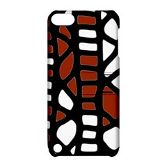 Red decor Apple iPod Touch 5 Hardshell Case with Stand