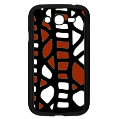 Red decor Samsung Galaxy Grand DUOS I9082 Case (Black)