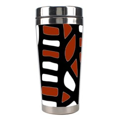 Red decor Stainless Steel Travel Tumblers