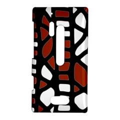 Red decor Nokia Lumia 928