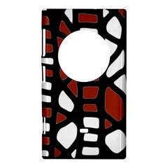 Red decor Nokia Lumia 1020
