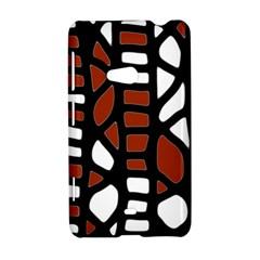 Red decor Nokia Lumia 625
