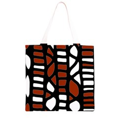Red decor Grocery Light Tote Bag