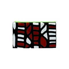 Red decor Cosmetic Bag (XS)