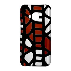 Red decor HTC One M9 Hardshell Case