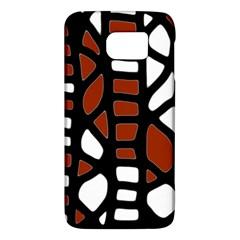 Red decor Galaxy S6