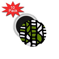Green decor 1.75  Magnets (10 pack)