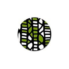 Green Decor Golf Ball Marker (10 Pack)