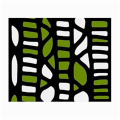 Green decor Small Glasses Cloth