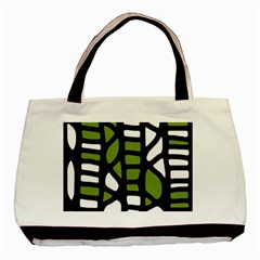 Green decor Basic Tote Bag (Two Sides)