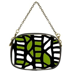 Green decor Chain Purses (Two Sides)