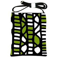 Green decor Shoulder Sling Bags