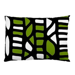 Green decor Pillow Case (Two Sides)