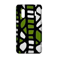 Green decor HTC Evo Design 4G/ Hero S Hardshell Case