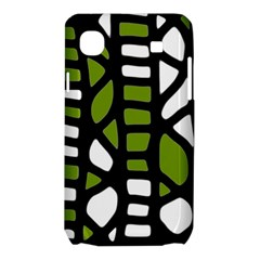 Green decor Samsung Galaxy SL i9003 Hardshell Case