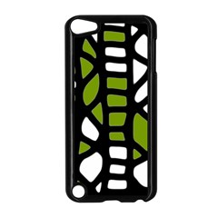 Green decor Apple iPod Touch 5 Case (Black)