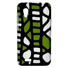 Green decor HTC Desire VT (T328T) Hardshell Case